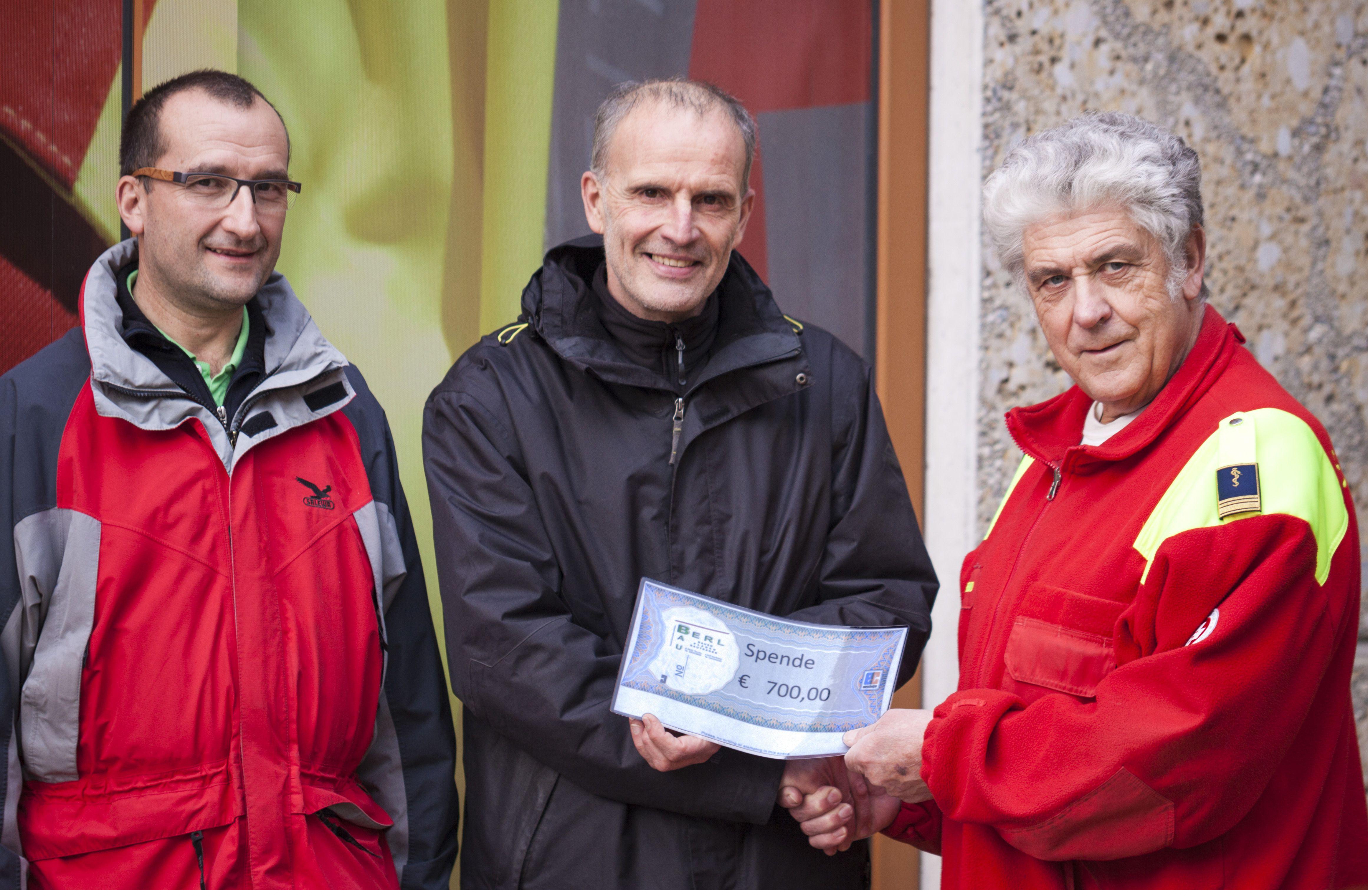 Ing. Walter Leinweber, Andreas Berl und Helmut Hauer